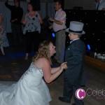 Brides special moment