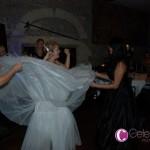Mulit-layered wedding dress
