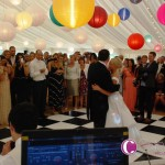 Wedding DJ For A Marquee