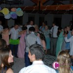 Everyone enjoys the first dance